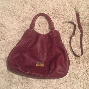 Marc by Marc Jacobs Q Francesca Leather Hobo Bag