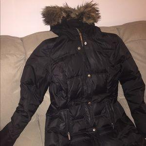 Michael Kors Down Black Coat