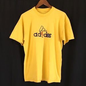 adidas embroidered basketball T-shirt