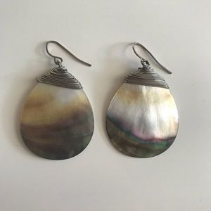 Hand-Crafted Sand-Dollar Earrings!!
