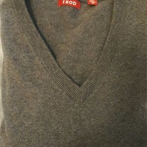 """IZOD"" Men's Xl V Neck Sweater"