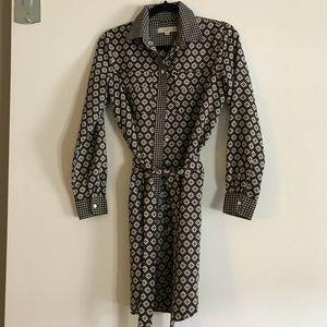 Ann Taylor Loft Button-down Dress