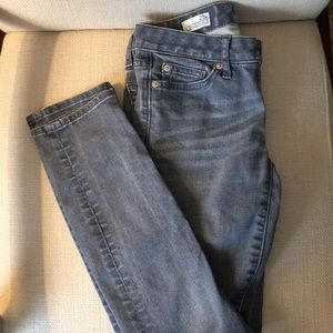 Gap light blue skinny jeans