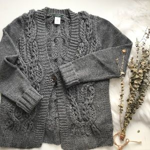 *SALE!* J. Crew Chunky Cable Knit Mohair Cardigan
