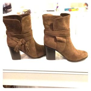 New suede boots