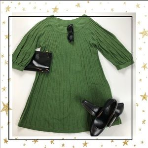 Leo&Nicole Green Tunic-dress (GP3B)