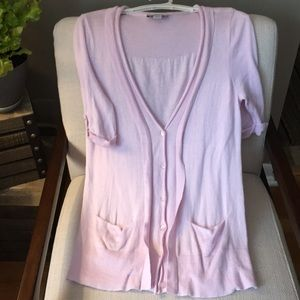 Adorable pink LOFY cardigan