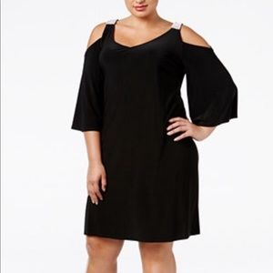 Plus size MSK black dress