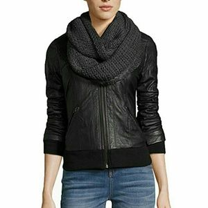 BCBGeneration ThickandThin Infinity Knit LoopScarf