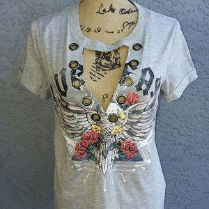 Live fast skull tshirt