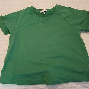 Short Sleeve Sweatshirt from Antgropologie