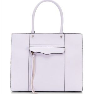 Rebecca Minkoff Medium M.A.B. Tote in Pale Lilac