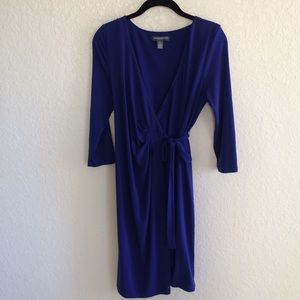 A Pea in the Pod Wrap Maternity Jersey Knit Dress