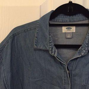 Denim Shirt | Old Navy | size: Medium