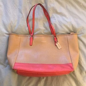 Coach Leather Summer Tote