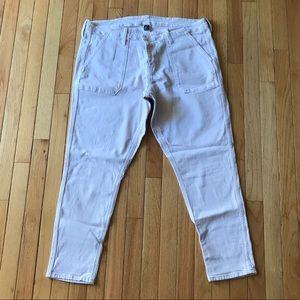 GAP Pale Pink Girlfriend Jeans