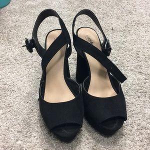 Mossimo chunky heels