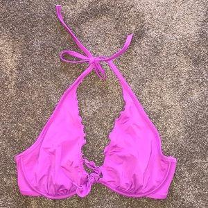 VICTORIA'S SECRET Halter Ruffle Bikini Top
