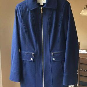 Michael kors small authentic blue coat