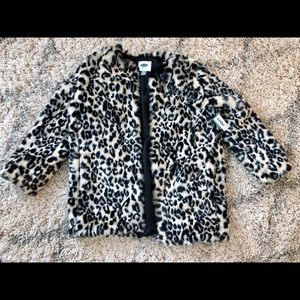 Old Navy Faux fur coat