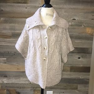 Old Navy button up sweater/poncho