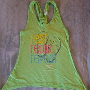 Rest relax repeat tank