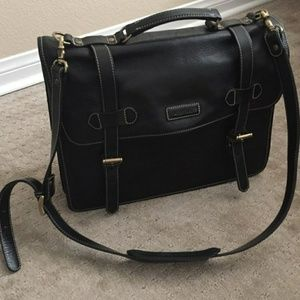 Authentic Cole Haan Leather Briefcase