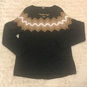 J. Jill Nordic beaded sweater Size Medium