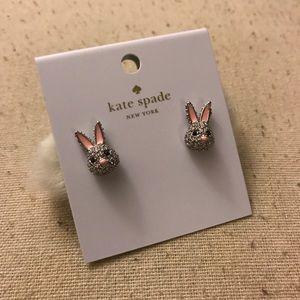 Kate Spade Bunny Earrings