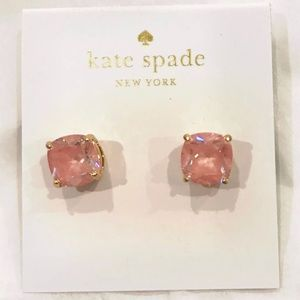 NEW Kate Spade Cubic Zirconia Lilac Studs