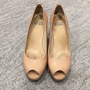 Stuart Weitzman size 8 tan heels