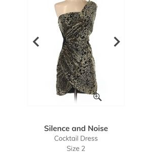 Silence and Noise like new cocktail dress