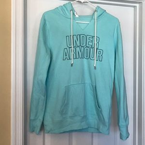 Under Armour teal colored sweatshirt