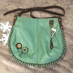 NWOT Chala faux leather hobo crossbody bag