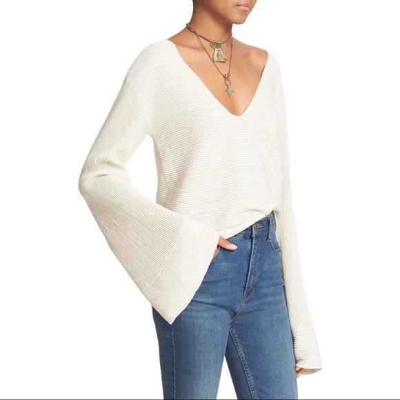 298500abc8 Free People Sweaters - Free People  Starman  Rib Knit Pullover