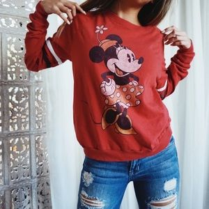 Disney//Minnie Mouse Pullover Sweater