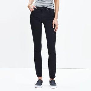 Madewell high riser skinny jeans sz 28