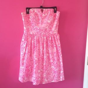 !!!PRICE DROP!!! Lilly Pulitzer  Strapless Dress