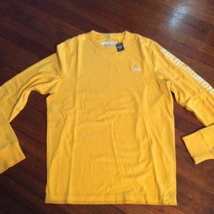 Abercrombie & Fitch Muscle Gold Sweatshirt NWT