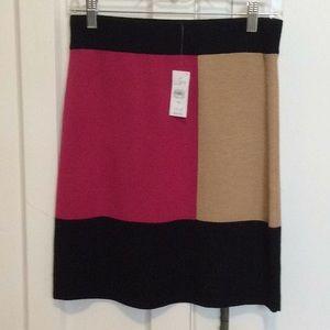 NWT Ann Taylor Loft knit skirt XS-$59!