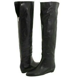 Loeffler Randall OTK boots, need some love