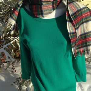 American eagle outfitters green sweater mesh back