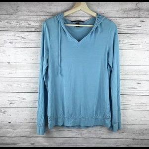 Body by Victoria Secret Blue Long Sleeve Hooded