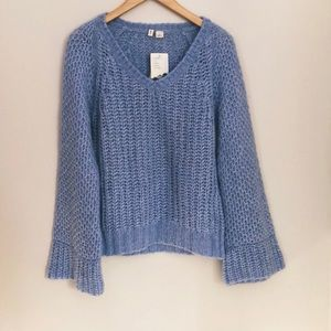 Anthropologie NWT Moth Sweater Handmade Size Small