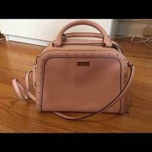 Kate Spade Studded Light Pink shoulder bag