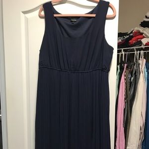 Long navy blue dress from Torrid! Worn once!