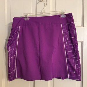 NWOT Adidas Climacool Tennis Skirt.  Size 12