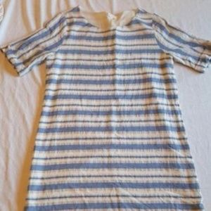 Everly Anthropologie Striped Shift Dress