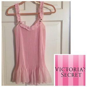 Nwot Victoria's Secret Pink Chemise. Sz Medium