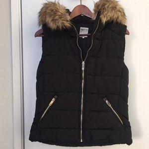 Zara Trafaluc Outerwear Collection vest.